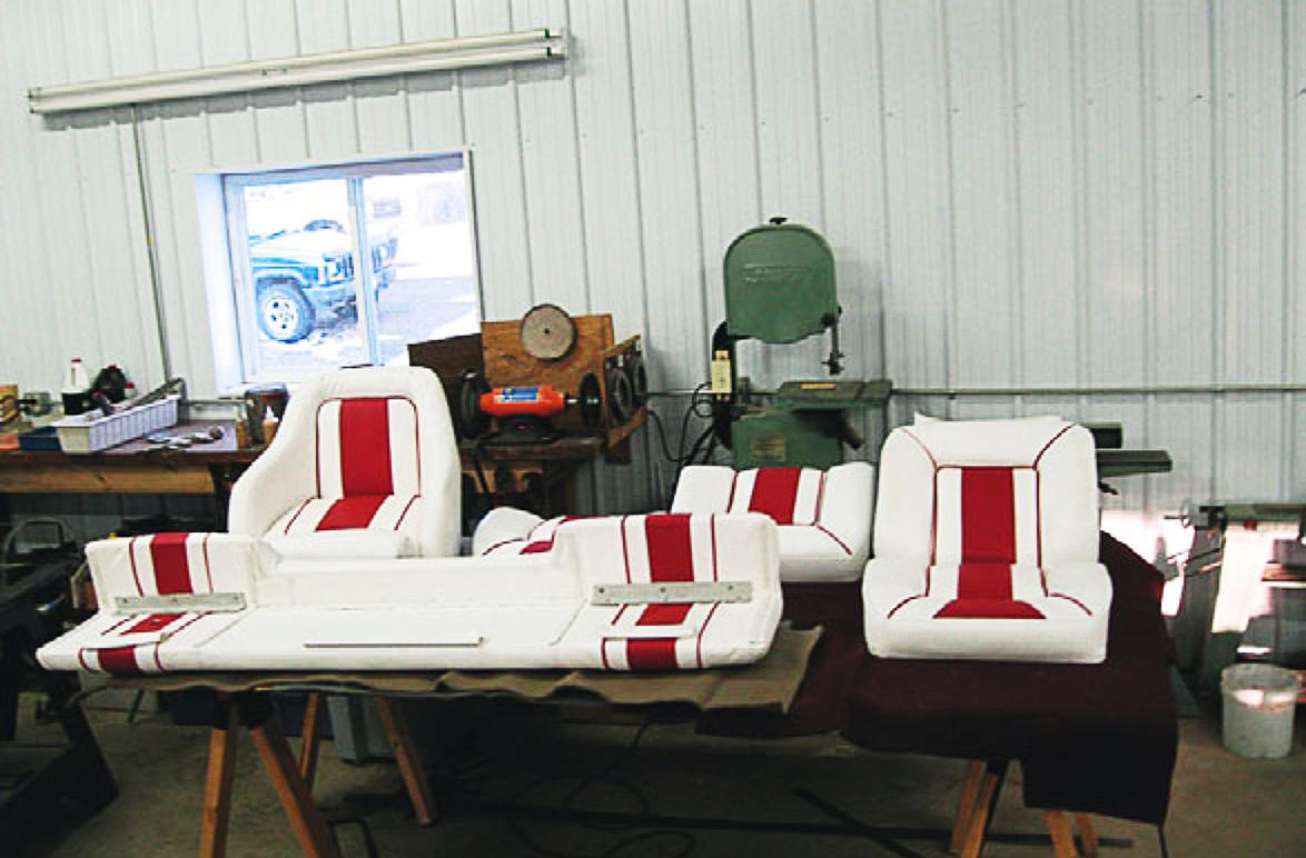Boat/ Marine Seat Restoration