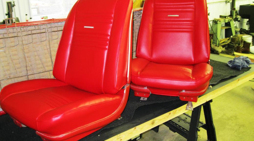 Auto Seat Upholstery Repair